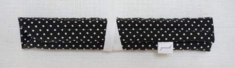 handmade pencil cases for seven pens, made of cotton, washable, made in Switzerland
